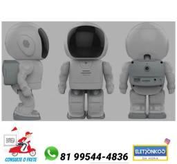 Título do anúncio: Robô Câmera Espiã Wireless Camera Ip wi-fi Grava Em Nuvem só zap