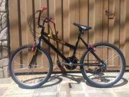 Vendo bike aro 24 seminova.