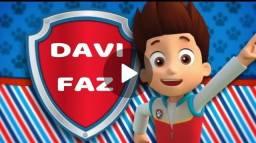 Convite em Vídeo para Festa Infantil - Patrulha Canina