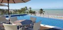 Título do anúncio: Alugo Apto com 02 Qtos. S/ 01 Suíte, C/ mobília Beira Mar de Cabo Branco