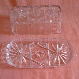 Manteigueira de Cristal
