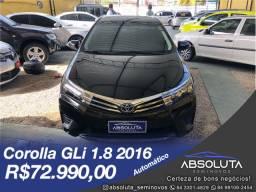 Toyota Corolla GLi 2016 Automático