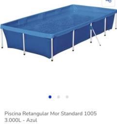 Vendo piscina 3000L 400