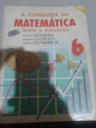 Livro de matemática 6ª série