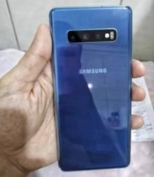 Título do anúncio: Samsung s10 plus 128 gb