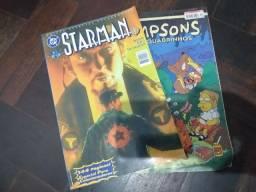 Título do anúncio: HQ Starman, Simpsons e Poster do Dragon Ball