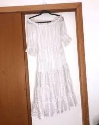 Vestido Branco Sereia