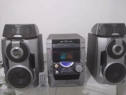 Título do anúncio: Som sony DX7 2000 Watts Original+Caixas Surrounds e Controle