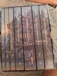 Livros e box do Harry Potter