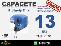 Título do anúncio: Capacete New Liberty Three Tork Azul