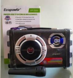 Caixa de som Ecopower