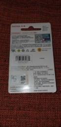 Cartão de memória Sandisk 32gB 45,00