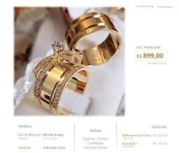 Título do anúncio: Aliança de noivado