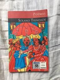 Livro - poemas antológicos de Solano Trindade