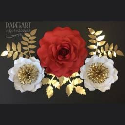 Título do anúncio: Flores de papel para festa