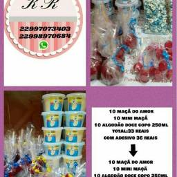 Kits a partir de 10 itens de cada