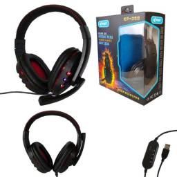 Título do anúncio: Headset Gamer Fone de Ouvido Pc Computador Lol Warzone csgo Valorant Gta 5