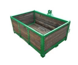 Plataforma Traseira Agrícola com Guardas - 750 kg