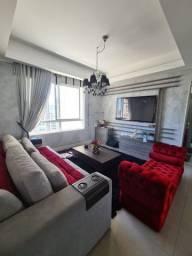 Lindo Apartamento com 3 suítes - Mobiliado