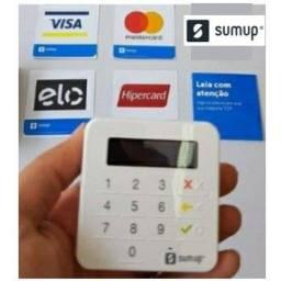 Maquininha de cartão Sumup top recarregável modelo novo