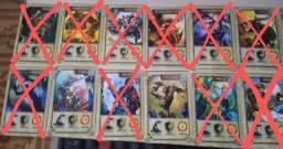 Título do anúncio: Cards da coleção Dracomania (R$5,00 por unidade) Leia a descrição!
