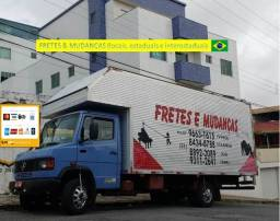 Título do anúncio: Mude bem fretamentos e mudanças locais e pra todo Brasil