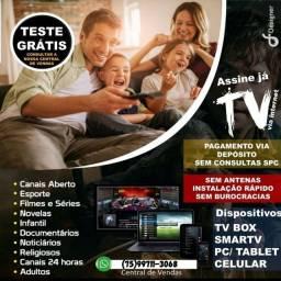 Título do anúncio: TV VIA internet