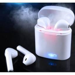 Título do anúncio: Fone Bluetooth sem fio i7s TWS, celular com microfone
