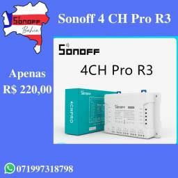 Sonoff 4 CH Pro R3 - Lançamento!