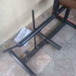 Maquina panturrilha sentado (plantar sentado) 3x cartão