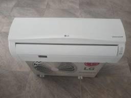 Ar condicionado LG inverter instalado