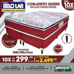 Título do anúncio: Cama Box Queen Molas Ensacadas