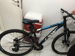 Bicicleta com 21 marchas