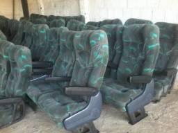 Bancos soft para ônibus e vans
