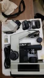 Microscópio Coleman Binocular