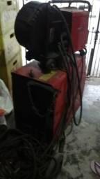 Máquina de solda industrial