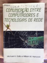 Livro de comunicação entre computadores. Gallo e Hancock