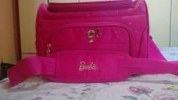 Frasqueira maquiagem viajem Barbie