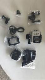 Câmera Sporte HD1080P - Acompanha Acessórios