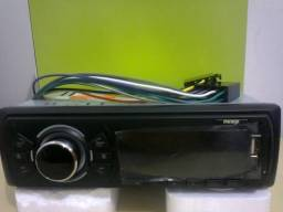 Mp3 auto radio c/usb novo c/garantia*leia ac/cartão
