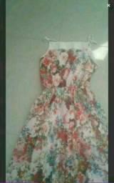 Lindo vestido longo florido 38