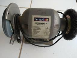"""Motor esmeril 6"""" Ferrari"""