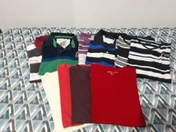 10 camisetas masculinas tamanho M