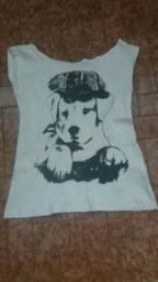 Camisa dog branca