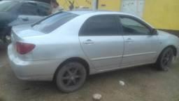 Corola automático valor 13.500 mais 1900 de multa - 2004