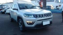 JEEP COMPASS LONGITUDE 4X2 2.0 16V AT6 FLEX Prata 2017/2018 - 2017