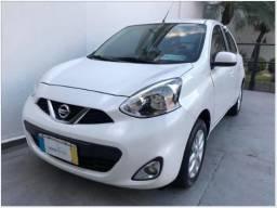 Nissan March 1.0 12V SV 2018-(Flex)Mecânico-Único Dono! - 2018