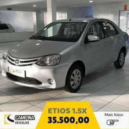 Toyota Etios 1.5X - 2015