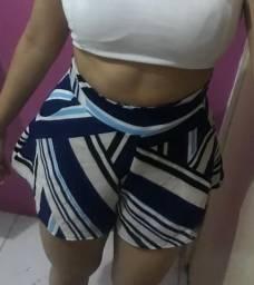 Short tamanho P( veste M tb) R$ 45