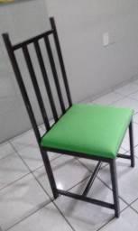 Cadeira em Ferro Galvanizado(B. Ininga)